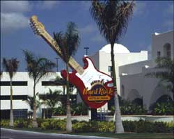 Hard Rock Sign & Garage